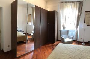 A bed or beds in a room at Apartment Solferino 37
