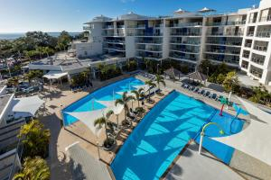A view of the pool at Oaks Resort & Spa Hervey Bay or nearby