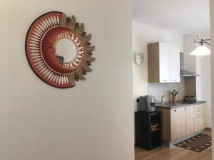 A kitchen or kitchenette at Casa Happy Bicocca/Niguarda