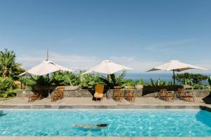 Der Swimmingpool an oder in der Nähe von El Patio de Tita