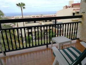 A balcony or terrace at Miraverde