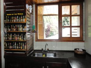 Una cocina o kitchenette en 7 Lagos