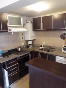 Una cocina o kitchenette en Belgrano
