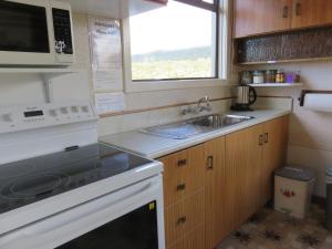 Köök või kööginurk majutusasutuses Glendale River View