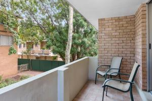A balcony or terrace at Waldorf North Parramatta Residential Apartments