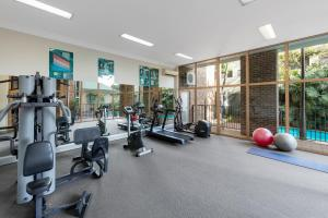 The fitness center and/or fitness facilities at Nesuto Pennant Hills (formerly Waldorf Pennant Hills Apartment Hotel)
