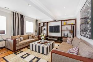 Zona de estar de 130 Queen's Gate Apartments