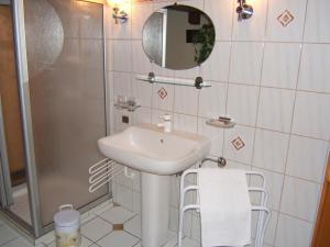 Salle de bains dans l'établissement Gitehaushaltermerkwiller