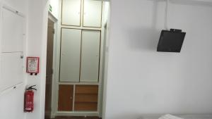 A bathroom at Estúdio acolhedor na Amadora