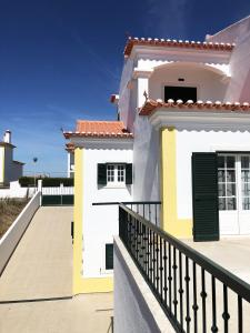 ระเบียงหรือลานระเบียงของ Ericeira Beach House