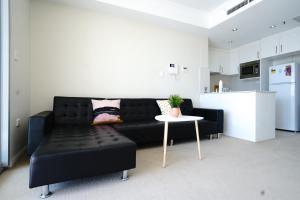 Кът за сядане в Burwood heart one bedroom stunning view &nice furnitures