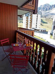 A balcony or terrace at Résidence le hameau du borsat