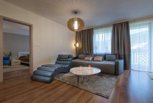 Posedenie v ubytovaní Apartmanica Panorama 35C