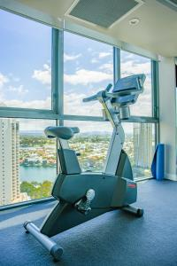 The fitness center and/or fitness facilities at 180 degree ocean view Apt by Hostrelax GCRDU0Y