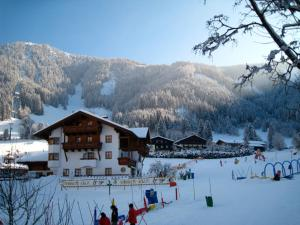 Zaglauhof during the winter
