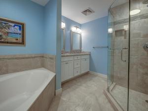 A bathroom at 2203 SeaCrest
