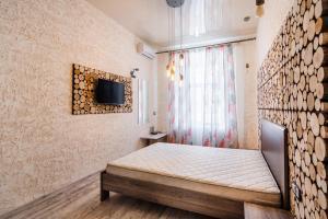Кровать или кровати в номере Central View Apartment