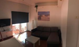 Ein Sitzbereich in der Unterkunft Apartamento Playa Chica Tenerife