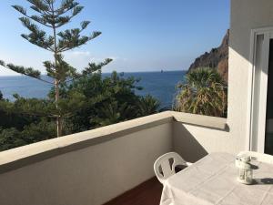 Ein Balkon oder eine Terrasse in der Unterkunft Apartamento Playa Chica Tenerife