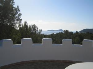 A balcony or terrace at Hacienda Encanto del Rio