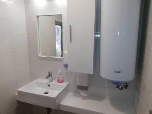 A bathroom at Diamond Apartment