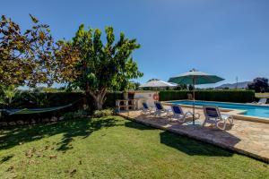 Der Swimmingpool an oder in der Nähe von Ca Na Carmen