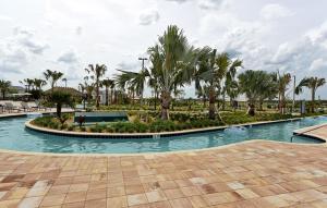The swimming pool at or close to Storey Lake Resort