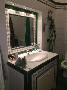 A bathroom at Elle house Roma