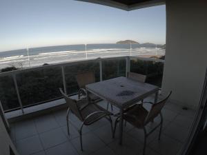 Un balcón o terraza de Águas do Santinho Apart