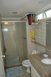 Un baño de Condominio Ancorar Flat Resort