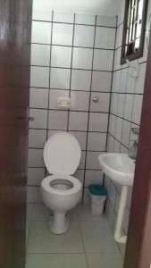 Un baño de Recanto das Gaivotas