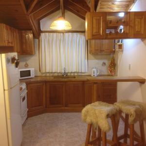 Una cocina o kitchenette en Departamento Céntrico Villegas