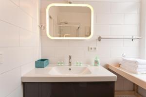 Ein Badezimmer in der Unterkunft Elisabeth Bräu