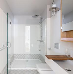 Ein Badezimmer in der Unterkunft Eden Locke