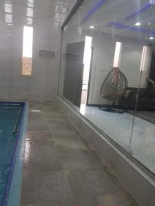 The swimming pool at or near Rafal el Khamis chalets
