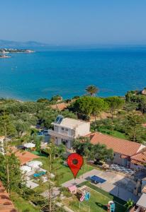 A bird's-eye view of Sole e Mare Apartments