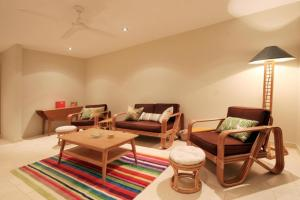 A seating area at Lorikeet 2, 66 Underwood Rd, Forster