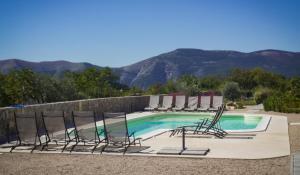 The swimming pool at or close to Wabi Sabi Resort & Apartments