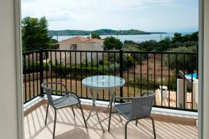 A balcony or terrace at Villa Hermes
