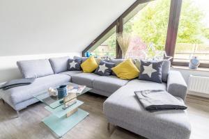 Posezení v ubytování Ferienwohnung Konrad Duden