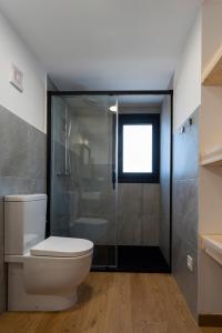 Um banheiro em Cabañas de Canide
