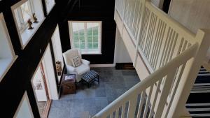 Ein Balkon oder eine Terrasse in der Unterkunft Villa Leksand