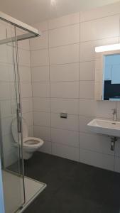 Ein Badezimmer in der Unterkunft Apartments in Bern - Breitenrainplatz
