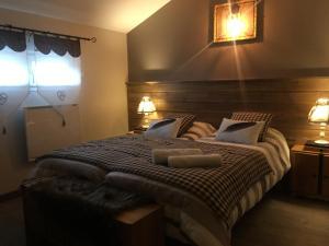 Un ou plusieurs lits dans un hébergement de l'établissement la Bergerie