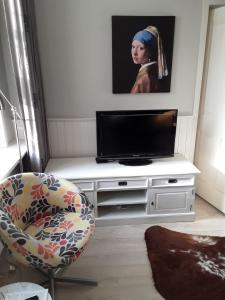 A television and/or entertainment center at Typical Dutch House