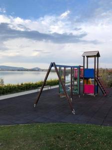 Children's play area at Velence Wellness Apartman