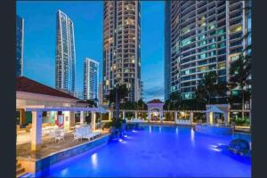 The swimming pool at or near Chevron Renaissance Towers