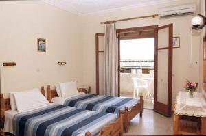 Krevet ili kreveti u jedinici u okviru objekta Leftis Romantica