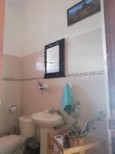 Un baño de Mario's apartment
