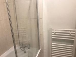 A bathroom at Castle View Apartment